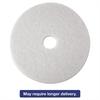 "Low-Speed Super Polishing Floor Pads 4100, 21"" Diameter, White, 5/Carton"