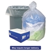 High Density Can Liners, 40-45gal, 12 Microns, 40 x 48, Natural, 250/Carton
