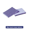 Soft Scour Scrub Sponge, 3 1/2 x 5 in, Blue, 40/Carton