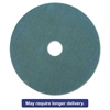 "3M Ultra High-Speed Floor Burnishing Pads 3100, 27.25"", Aqua, 5/Carton"