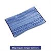 Rubbermaid Commercial HYGEN HYGEN Wet/Scrub Microfiber Plus Pad, 17 1/2w x 20d, Blue, 6/Carton