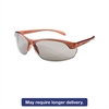 Honeywell Uvex Women's Eyewear, Dusty Rose Frame, TSR-Gray Anti-Scratch Lens, One Size, 10/Box