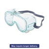 A610S Safety Goggles, Indirect Vent, Green-Tint Fog-Ban Lens