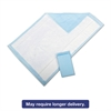 Medline Protection Plus Disposable Underpads, 23 x 36, Blue, 25/Bag