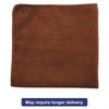 Rubbermaid Commercial Executive Multi-Purpose Microfiber Cloths, Brown, 12 x 12, 24/Pack, 12 Packs/CT