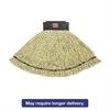 Maximizer Microfiber Mop Heads, Large, Yellow, 6/Carton