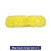 "Trapper Commercial Dust Mop, Looped-end, 5"" x 36"", Yellow, 12/Carton"