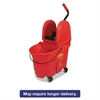 WaveBrake Bucket/Wringer Combos, 35 qt, Red