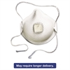 Moldex 2700N95 Series HandyStrap Respirator, Half-Face Mask, Medium/Large, 10/Box