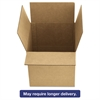 Brown Corrugated - Multi-Depth Shipping Boxes, 12l x 12w x 12h, 25/Bundle