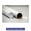 "General Supply Round Mailing Tubes, 15l x 3"" dia., Brown Kraft, 25/Pack"