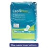 "Medline Capri Plus Bladder Control Pads, Regular, 5 1/2"" x 10 1/2"", 28/Pack"