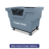 Mail Truck, Trash Only, 31 3/4 x 48 x 37, 1,000 lbs. Capacity, Gray