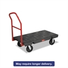 Rubbermaid Commercial Platform Truck, 2000-lb Cap, 24w x 48d x 7h, Black