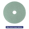 "3M Ultra High-Speed Floor Burnishing Pads 3100, 24"", Aqua, 5/Carton"