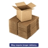 General Supply Brown Corrugated - Cubed Fixed-Depth Shipping Boxes, 5l x 5w x 5h, 25/Bundle