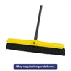 "Tampico-Bristle Medium Floor Sweep, 24"" Brush, 3"" Bristles, Black, 12/Carton"