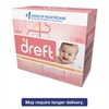 Dreft Ultra Powdered Laundry Detergent, Baby Powder Scent, 53 oz Box, 4/Carton