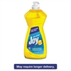 Joy Dishwashing Liquid, 14 oz Bottle, Lemon Scent, 25/Carton