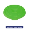 Vio Biodegradable Lids f/8 oz Cups, Green, 1000/Carton