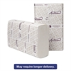 Wausau Paper Artisan Folded Towels, Optifold, 9 1/2 x 10 1/4, WH, 250/Pack, 12 Packs/Carton