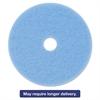 "Sky Blue Hi-Performance Burnish Pad 3050, 20"" Diameter, Sky Blue, 5/Carton"
