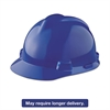 V-Gard Hard Hats, Staz-On Pin-Lock Suspension, Size 6 1/2 - 8, Blue