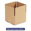 Brown Corrugated - Fixed-Depth Shipping Boxes, 16l x 12w x 4h, 25/Bundle