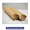"General Supply Snap-End Mailing Tubes, 18l x 1 1/2"" dia., Brown Kraft, 25/Pack"