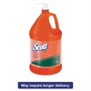 NTO Hand Cleaner w/Grit, Orange, 1gal Pump Bottle