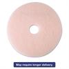 "3M Ultra High-Speed Eraser Floor Burnishing Pad 3600, 21"", Pink, 5/Carton"