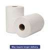 EcoSoft Hardwound Roll Towels, 8 in x 425ft, White, 12 Rolls/Carton