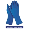 G29 Solvent Resistant Gloves, Medium/Size 8, Blue, 500/Carton