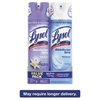 Disinfectant Spray, Early Morning Breeze/Crisp Linen, 19 oz Aerosol, 2/Pack