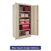 "Tennsco 72"" High Standard Cabinet, 36w x 24d x 72h, Putty"