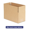 Brown Corrugated - Fixed-Depth Shipping Boxes, 12l x 6w x 6h, 25/Bundle
