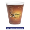 Marquee Coffee House Paper Wrapped Cups, Foam, 12 oz, Maroon, 1000/Carton