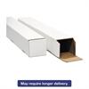 "General Supply Adjustable Round Mailing Tubes, 60l - 120l x 3 1/8"" dia., Brown Kraft, 12/Pack"