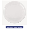 WNA Designerware Plastic Plates, 10 1/4 Inches, Clear, Round, 8/Pack