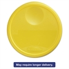 Rubbermaid Commercial Round Storage Container Lids, 13 1/2 dia x 2 3/4h, Yellow