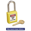 Master Lock No. 410 Lightweight Xenoy Safety Lockout Padlock, 6 Pin, Yellow