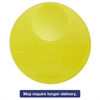 Rubbermaid Commercial Round Storage Container Lids, 10 1/4 dia x 1h, Yellow