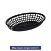 Food Basket, Black, Plastic, Small, 5 7/8 x 1 5/8