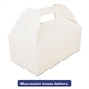 Carryout Barn Boxes, 8 7/8 x 5 x 3 1/2, White, 250/Carton