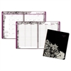 Floradoodle Professional Weekly/Monthly Planner, 9 3/8 x 11 3/8, 2017-2018