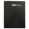Recycled Professional Hardcover Weekly Planner, 8 1/2 x 11, Black, 2017