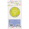 Banners Magnetic Pad, 4 x 8, Assorted, 70 Sheets