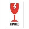 """PM Company Pre-Printed Shipping Labels, 4 x 6, """"FRAGILE-BROKEN GLASS"""", 1000/Roll, 4 Roll/CT"""