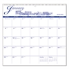 AT-A-GLANCE 12-Month Illustrator's Edition Wall Calendar, 12 x 11 3/4, Illustrations, 2017