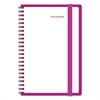 AT-A-GLANCE Color Play Weekly/Monthly Planner, 4 7/8 x 8, White/Purple, 2017
